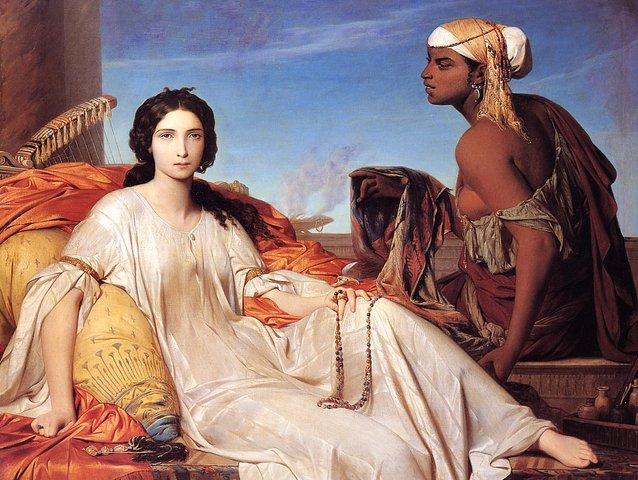 Франсуа Леон Бенувиль, «Эстер или Одалиска»