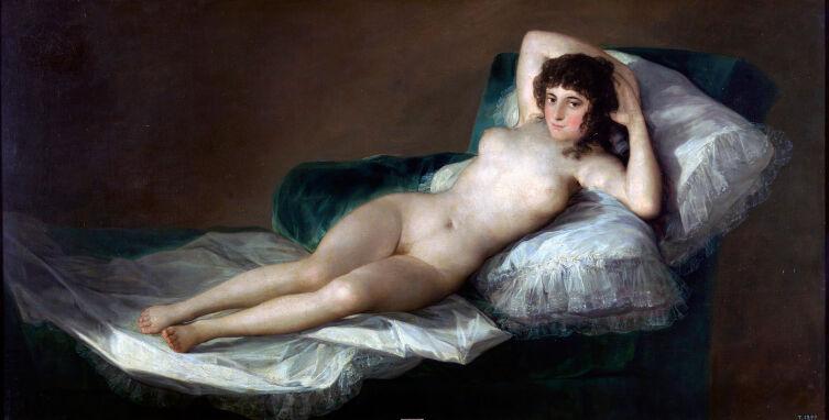 Франсиско Гойя, «Маха обнажённая», ок. 1797-1800 г.