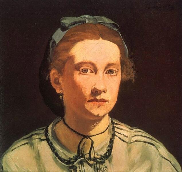 Эдуар Мане, «Портрет Викторины Мёран», 1862г.
