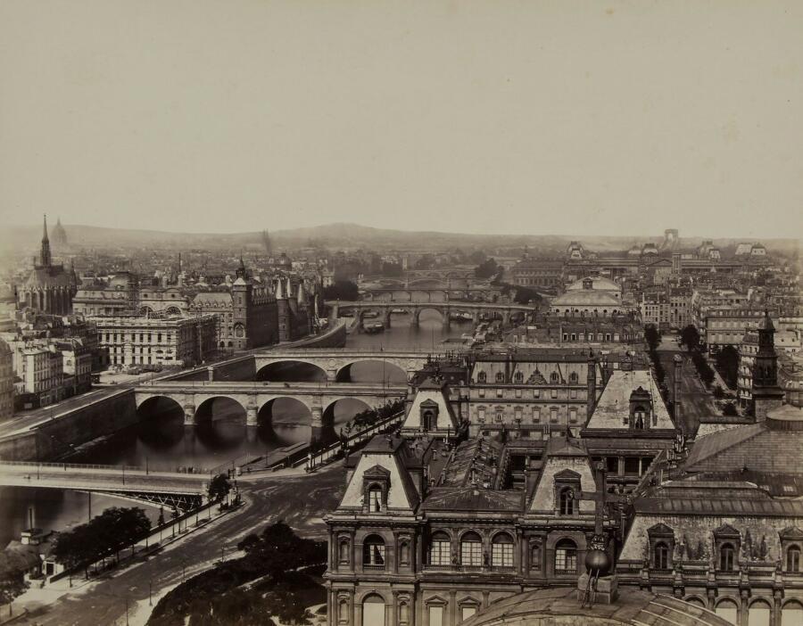 Панорама Парижа, 1865 г.