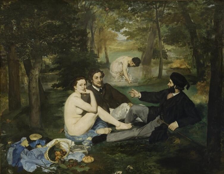 Эдуар Мане, «Завтрак на траве», 1863 г.