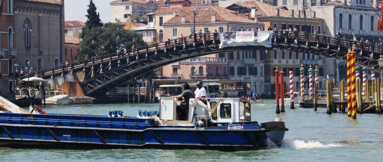 Мост Академии с южной стороны