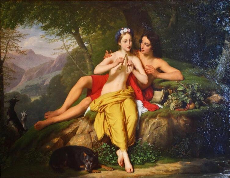 Луи Эрсан, «Дафнис и Хлоя», 1817 г.
