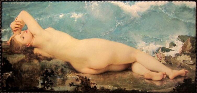 Поль Бодри, «Жемчужина и волна», 1862 г.