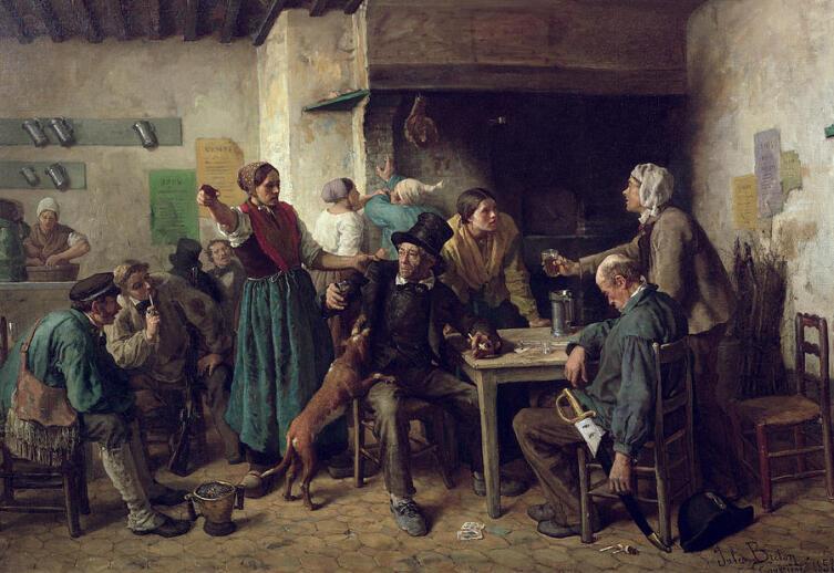 Жюль Бретон, «Винный магазин»