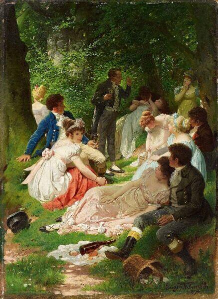 Ойгена Климш, «Пикник», 1894 г.