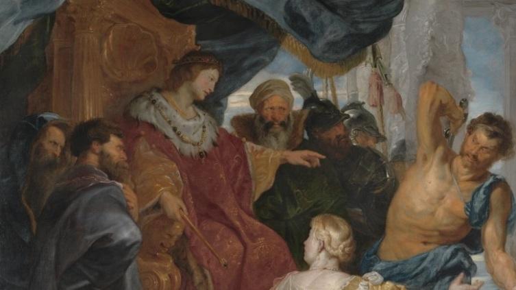 Питер Пауль Рубенсн, «Суд Соломона» (фрагмент), 1617 г.