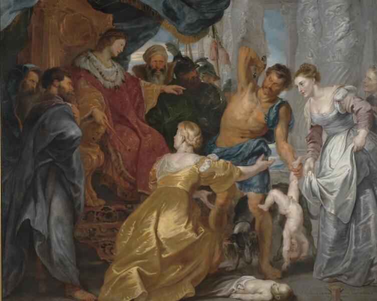 Питер Пауль Рубенсн, «Суд Соломона», 1617 г.