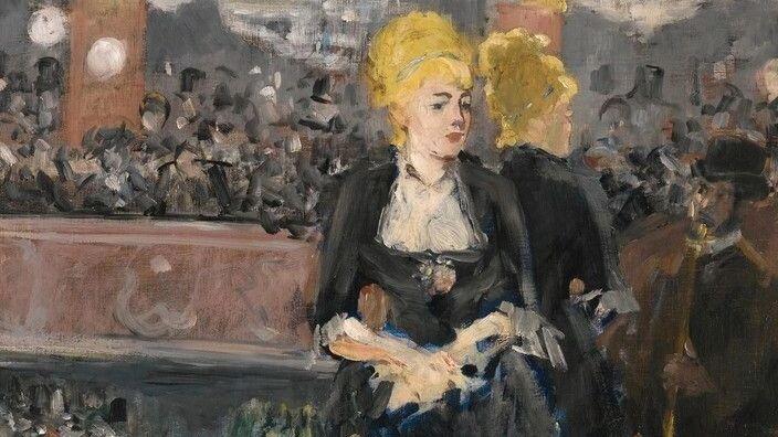 Эдуар Мане, «Бар в Фоли-Бержер» (первый вариант)», 1881 г.
