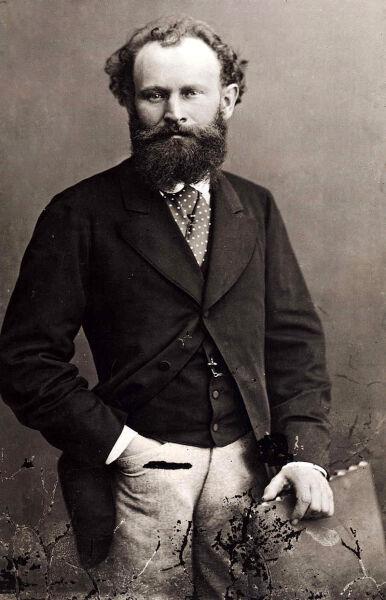 Эдуар Мане, около 1870 г., портрет работы Надара