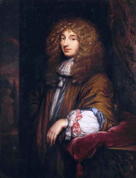 Каспар Нешер, «Портрет Христиана Гюйгенса», 1671 г.