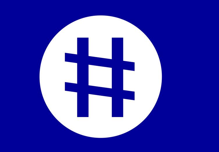Флаг Селестии (« Нация небесного пространства»)
