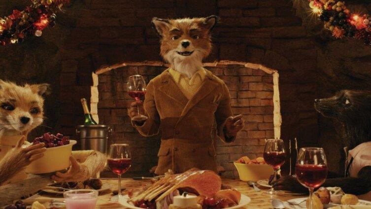 Кадр из м/ф «Бесподобный мистер Фокс», 2009 г.