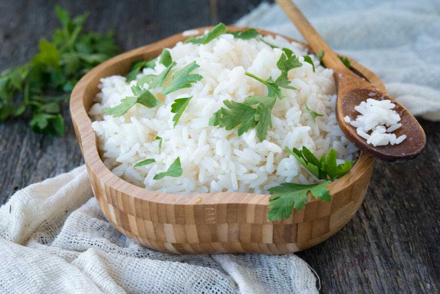 Как интересно приготовить рис на гарнир?