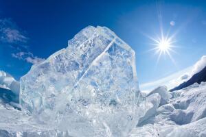 Как в жарком климате получали и сохраняли лёд?