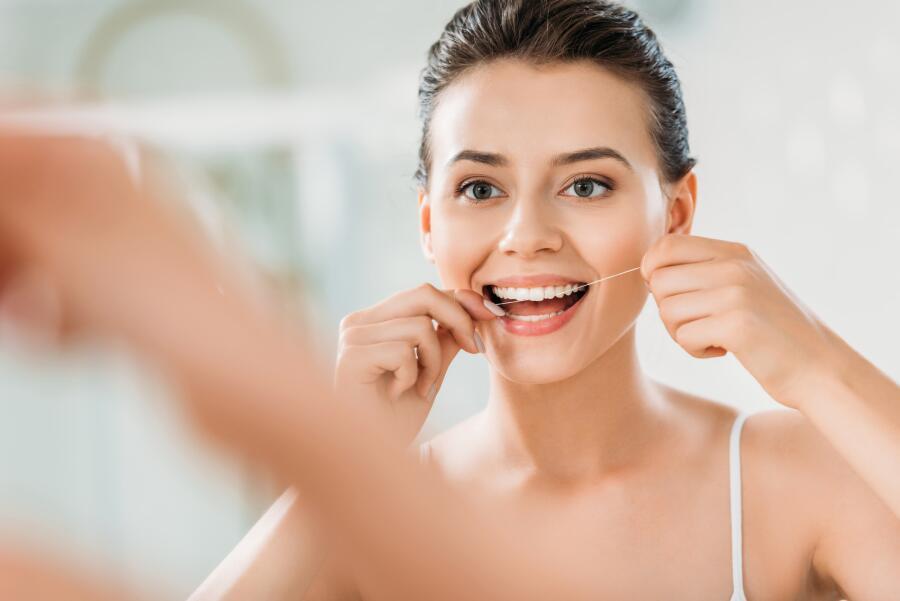 Зубная нить спасает жизни...