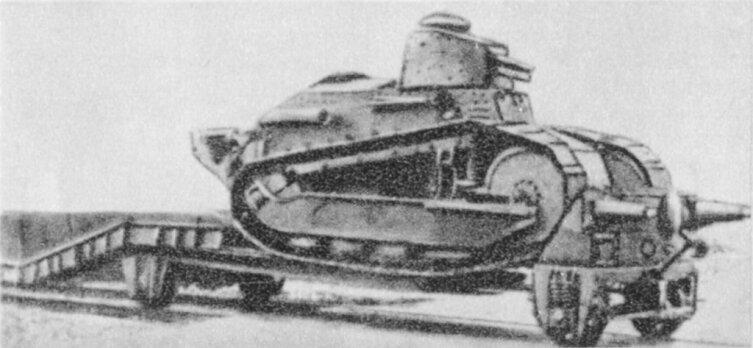 Польская бронедрезина типа R, 1920 г.