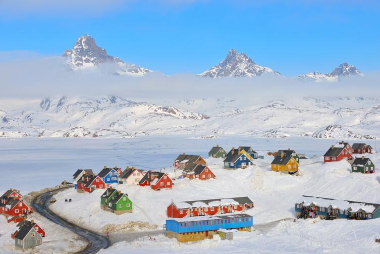 Поселок Ангмагссалик, Гренландия