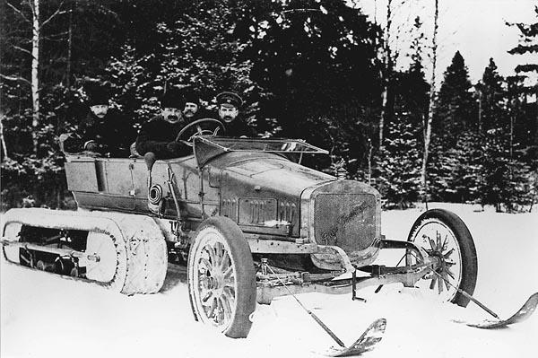 Руссо-Балт С24/40 Кегресс, 1913 г.