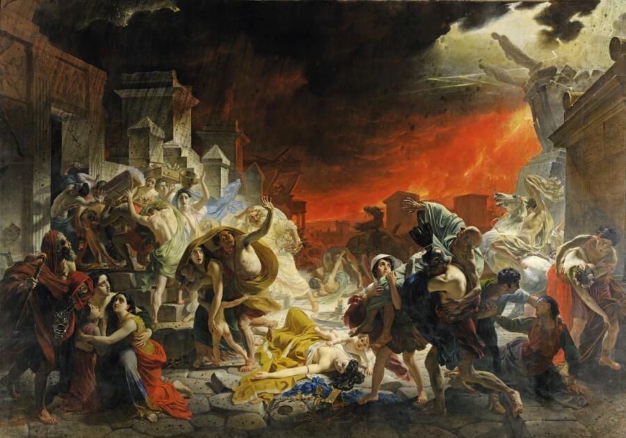 К. П. Брюллов, «Последний день Помпеи», 1830-е гг.