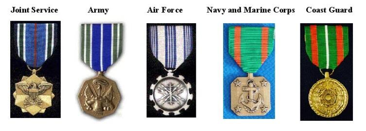 Награды США по родам войск