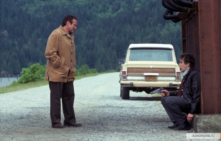 Кадр из к/ф «Бессонница», 2002г.
