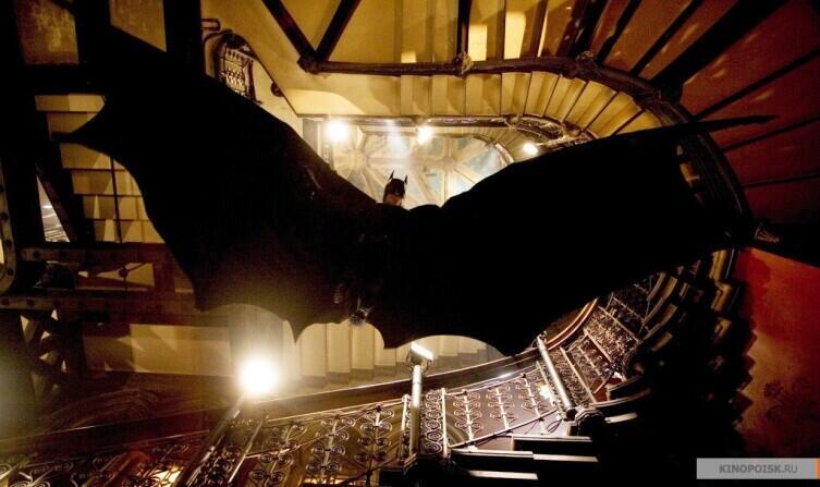 Кадр из к/ф «Бэтмен: Начало», 2005г.