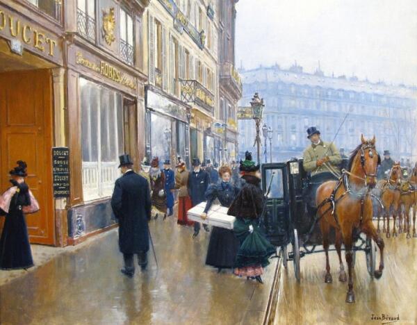 Магазин Жака Дусе. Чем он торговал?
