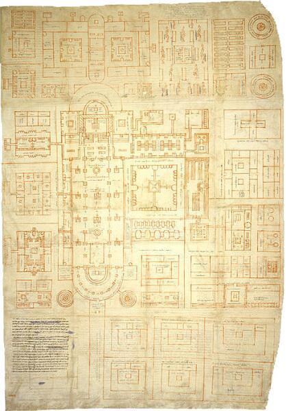 План из Санкт-Галлена