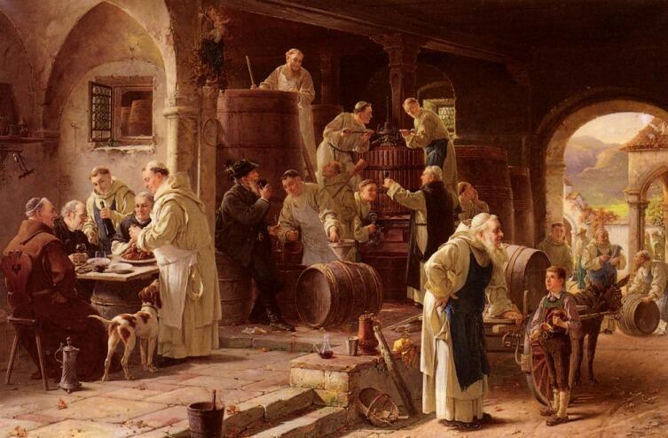 Адольф Хумборг, «Молодое вино»