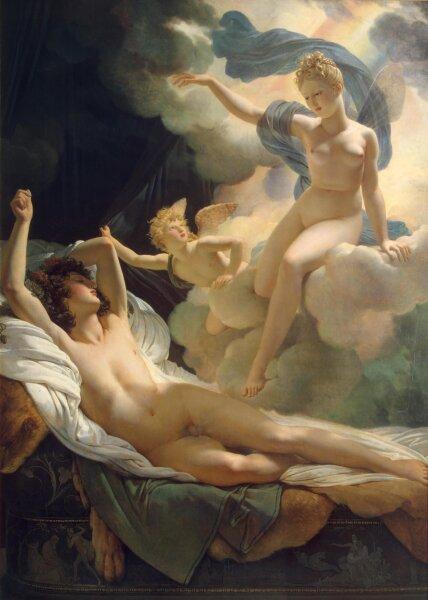 Пьер Нарсис Герен, «Морфей и Ирида», 1811 г.