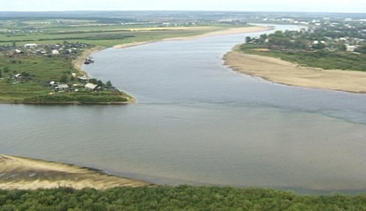 Слияние рек Юг и Сухона