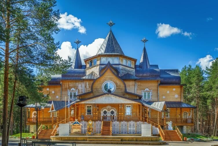 Резиденция Деда Мороза в Великом Устюге, Россия