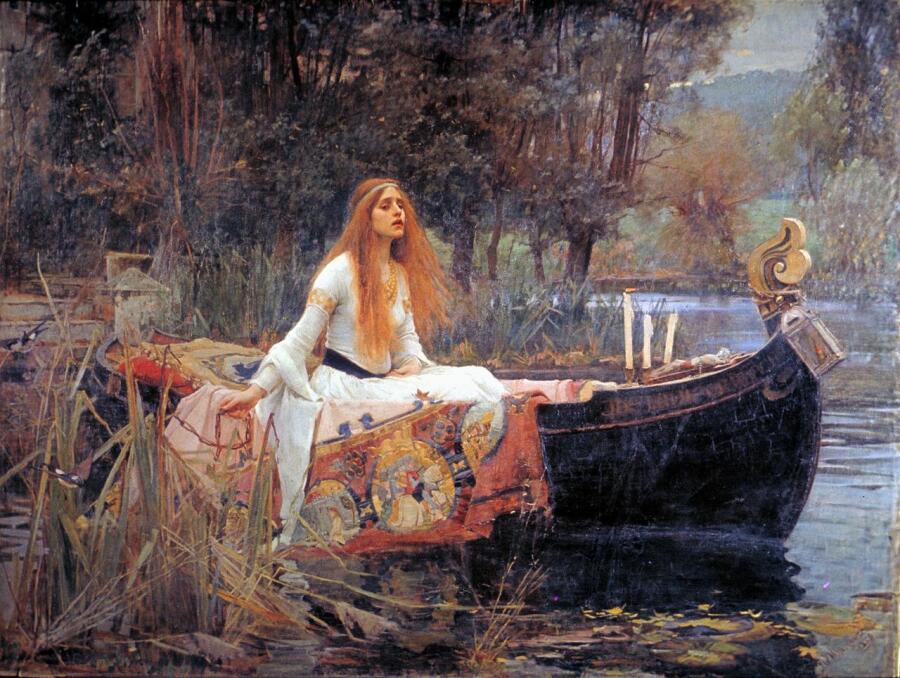Джон Уильям Уотерхаус, «Леди из Шалот», 1888 г.