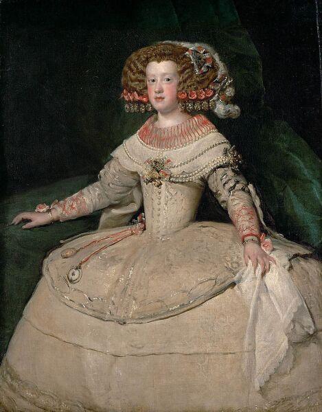 Диего Веласкес, «Инфанта Мария Терезия в четырнадцать лет», 1653 г.