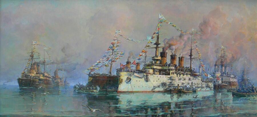 П. Д. Сургутсков, «Рандеву», 1981 г.