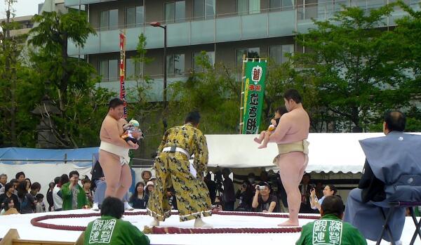 «Наки сумо»: чем интересен фестиваль плачущих младенцев в Японии?