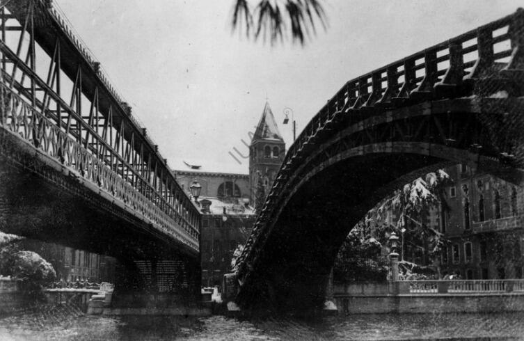 Мост милосердия и мост Академии, 1933 г.