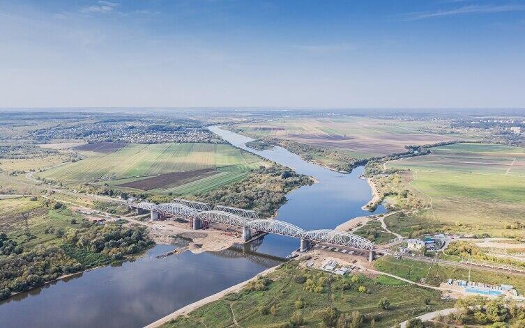 Река Ока около Серпухова