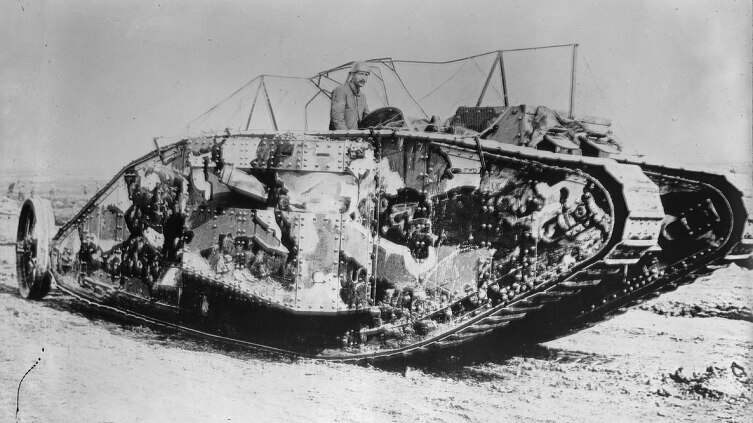 Танк Мк-1, 1916 г.