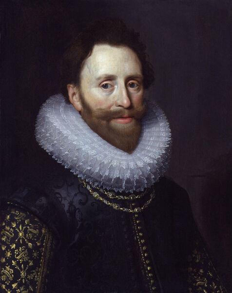 Мишель Янс ван ван Миревельт, «Портрет Дадли Карлтона», ок. 1620 г.