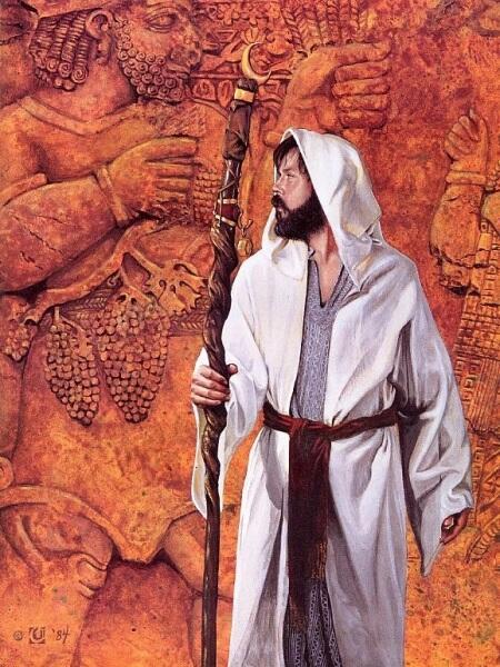 Давид Черри, «Человек пророк»