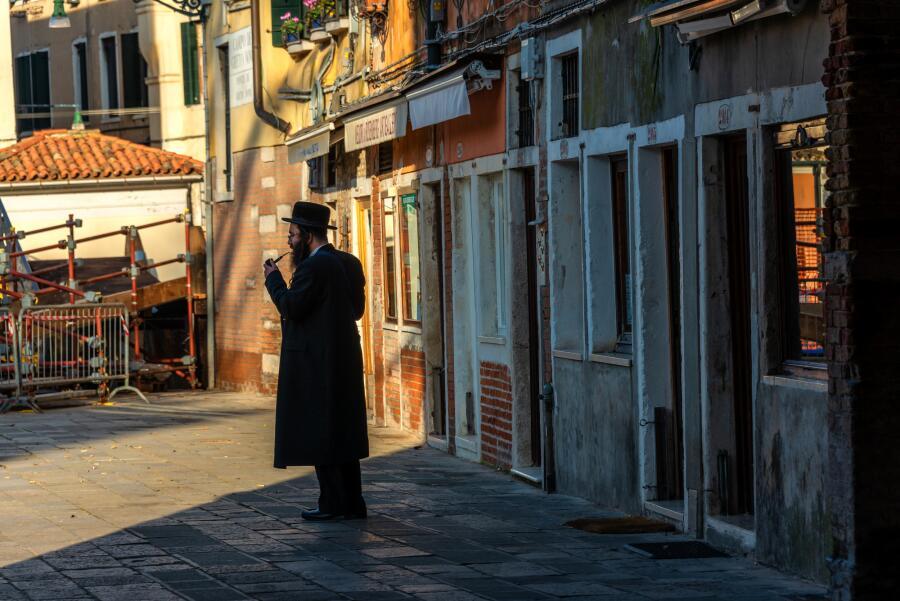 В районе Новое гетто. Венеция, Италия