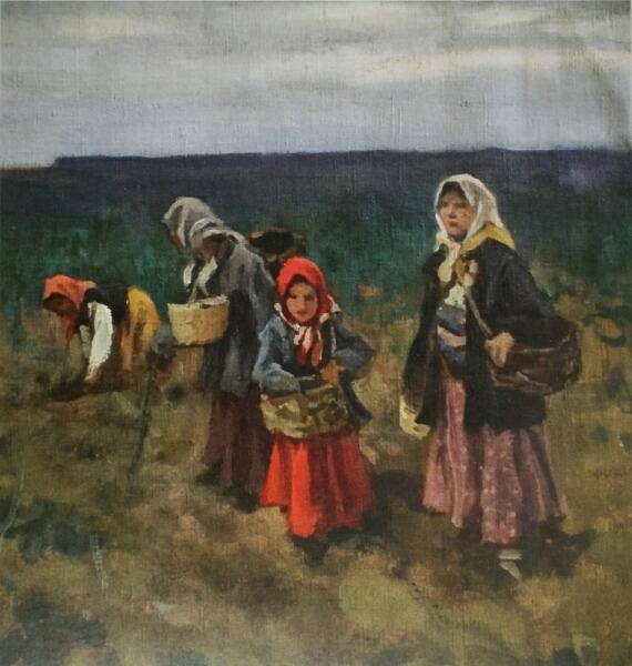 А. С. Степанов, «Сборщицы клюквы», 1910-е гг.
