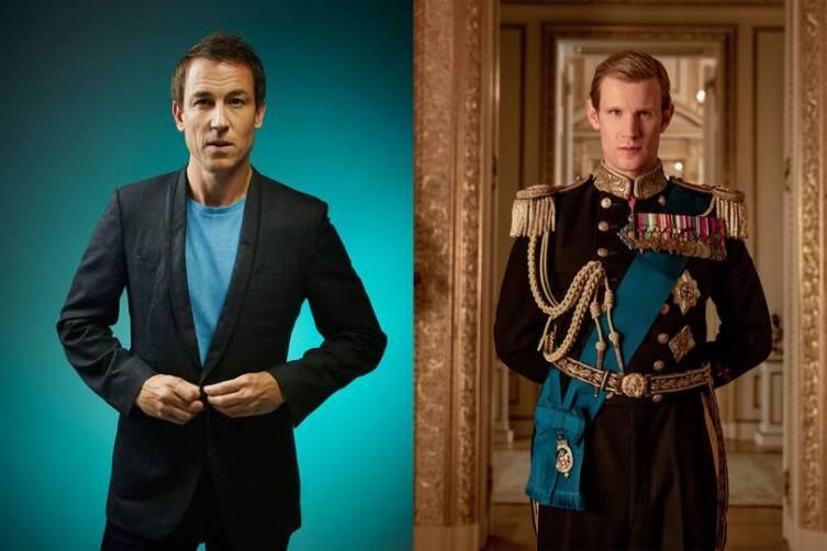 Принц Филипп, герцог Эдинбургский. Актеры Тобайас Мэнзис и Мэтт Смит