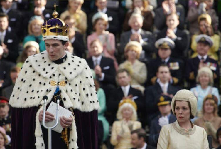 Церемония инвеституры. Принцу Чарльзу присвоен титул принца Уэльского, 1958г.