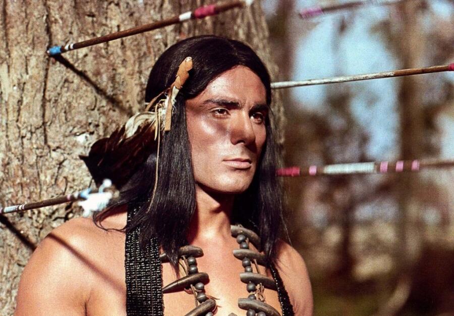 Кадр из к/ф «Чингачгук — Большой Змей», 1967 г.