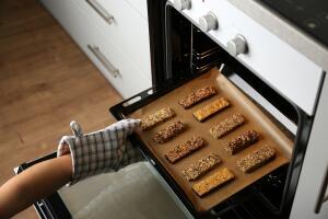 Как приготовить мюсли в духовке?