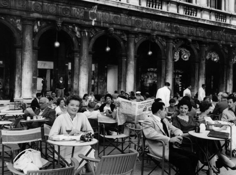 Кадр из к/ф «Лето», 1955 г.