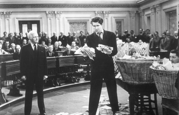 Кадр из к/ф «Мистер Смит едет в Вашингтон», 1939 г.